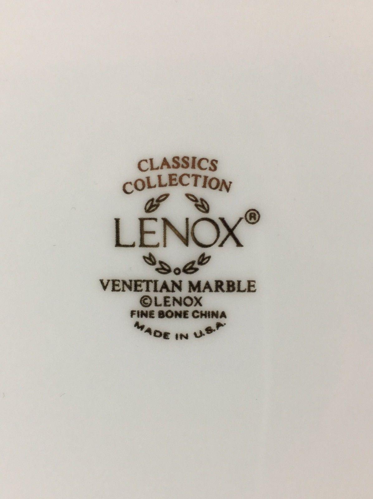 Lenox Venetian Marble Dinner plate image 3