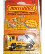 "Matchbox 1987 ""Ford Cargo Skip Truck"" Mint Car On Sealed Card #MB70 - £5.81 GBP"