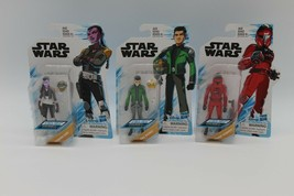 "3 New Sealed Star Wars 3.75"" Action Figures Assortment Animated Series H... - $29.99"