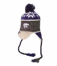 Kansas State Wildcats NEW NCAA Ridge Pom Beanie One Size Stocking Hat Cap  - $20.78