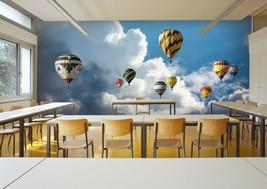 3D Cloud Balloon S82 Business Wallpaper Wall Mural Self-adhesive Commerc... - $19.79+
