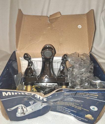 MintCraft 8318305 Chrome Two Metal lever Handle Lavatory Faucet