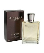 MIRACLE HOMME LANCOME AFTER SHAVE LOTION  3.4 oz Fragrance Perfume Colog... - $179.99