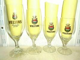 4 VELTINS Meschede GALORE German Beer Glasses - $14.95