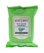 Burt's Bees Normal Facial Cleansing Towelettes Cucumber & Sage 30 Count - $9.89