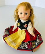 """Ginny Doll Vogue Far Away Lands Switzerland Swiss Outfit 8"""" 1972 Hong Kong - $16.44"""