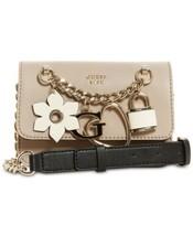 Guess Hadley Flap Mini Crossbody Bag (Taupe) - $66.41