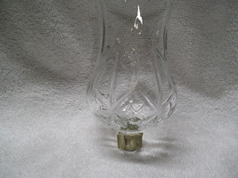 Homco  XLarge Diamond PEG Glass Votive Cup Candle Holder - $7.99