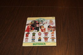 Butterick Pattern Cabbage Patch Kids Small Ornaments Mini W/ Clothes # 3... - $9.74