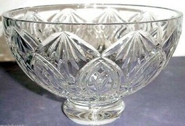 "Waterford Crystal Ashbury Footed 8"" Bowl Made in Ireland #136769 New - $172.90"