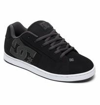 Mens Dc Net Skateboarding Shoes Nib Black Grey (Bgy) - $59.49