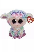 """Ty Beanie Boos DAFFODIL Lamb Buddie 9"""" New with Tags - $11.57"""