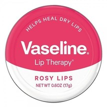 Vaseline Lip Therapy Lip Balm, Rosy Lips 0.6 oz - $8.28