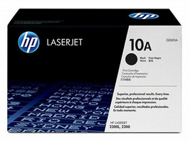 HP Black Toner Print Cartridge 10A (Q2610A) for HP LaserJet 2300 - $120.00