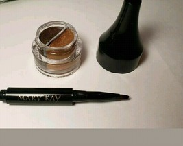 Mary Kay GEL LINER DUO DRAMATIC GOLD, Full Size .14 oz. - New in Box - $10.89
