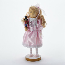 "Kurt S. Adler 12"" Hollywood Wooden Nutcracker Clara Christmas Decoration - $38.88"