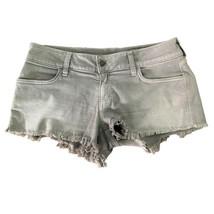 Siwy Denim Womens Gray Wash Cut-off Jean Shorts Sz 27 - $29.70