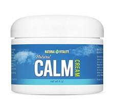 Natural Vitality Cream Natural Calm, 4 oz - $21.08