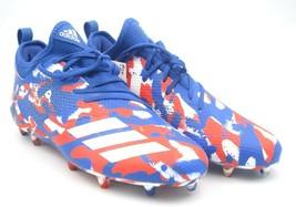 Adidas Adizero 5 Star 7.0 Red/Blue/White Football Cleats Shoe Sz 10US(DB0623)A26 - $66.90