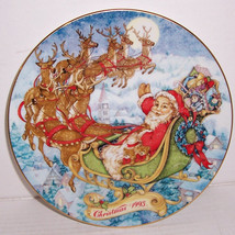 Avon Christmas 1993 Collectible Special Christmas Delivery Porcelain Plate - $22.99