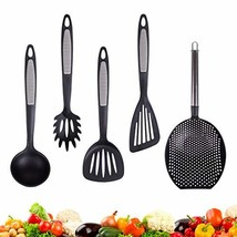 Nylon Cooking Utensils 5-Piece by Annaklin, 2 Slotted Turner Spatula, Sk... - $19.03