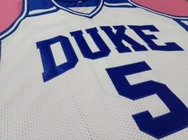 Jeff Capel Iii Duke Blue Devils White College Jersey Any Size Free Wwjd Bracelet - $29.99