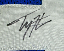T.Y. HILTON / INDIANAPOLIS COLTS / HAND SIGNED COLTS BLUE CUSTOM JERSEY / COA image 5