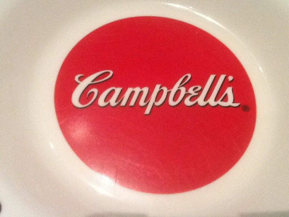 9 CAMPBELL SOUP BOWLS ARCOPAL FRANCE GOOD FOR THE BODY GOOD FOR THE SOUL NICE image 9