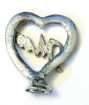 "Heart ""Mom""  Fine Pewter Figurine - Approx. 1 inch tall     (T234) image 3"