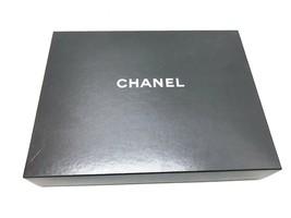 CHANEL LARGE 17 x 13 x 3 EMPTY BLACK HANDBAG 2.55 FLAP BAG CLUTCH RTW GI... - $32.73