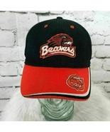 Oregon State Beavers Mens Sz S/M Hat Adjustable Baseball Cap 100% Cotton - $14.84
