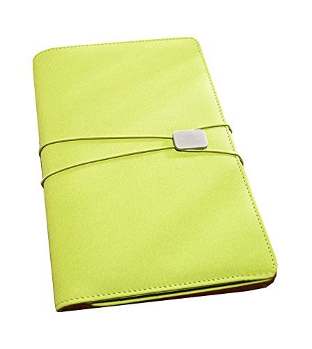 A5 Refillable Binder Planner PU Leather Cover Notebook Journal, 23