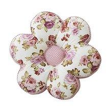 George Jimmy Flower Back Pillow Soft Cushion Office/Car Cotton Tatami Fl... - $28.67