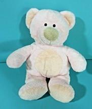 "Ty Pluffies Pinks Teddy Bear 9"" Plush Pink Peach Stuffed Animal Baby Lovey 2002 image 2"