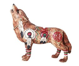 Pacific Giftware The Wolf Spirit Collection Revered War Wolf Spirit Collectible  - $21.99