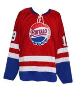Custom Name # Buffalo Bisons Retro Hockey Jersey New Red Any Size - $54.99+