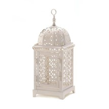 lanterns outdoor, Moroccan Aura metal decorative floor patio lantern out... - $23.19