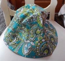Vera Bradley sun hat in retired Peacock pattern  - $22.00