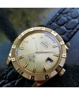 Mens Royce Leadership 1100 Ref.1700/03 38mm Gold-Capped Automatic c.1970... - $1,814.62