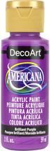 Americana Acrylic Paint 2oz-Brilliant Purple - $5.62