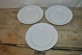 """Ikea Salad Bowls Set Of 3   Wear On Bottom Of Plates  View Photo's 10 1/4"""" - $19.99"""
