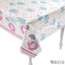 Umbrellaphants Pink Tablecloth  - $4.49