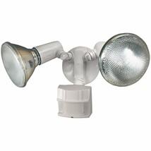 White Heavy Duty Motion Sensor Security Light 70 feet Detection Range 12... - $31.48