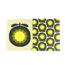Offiziell Lizenziert Orla Kiely Cantaloupe Melone Tee Handtücher Spüllappen - $27.04