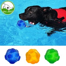 Chew Dog Toys Squeaky Waterproof Ball Training Tooth Cleaning Toy For Pe... - $24.00