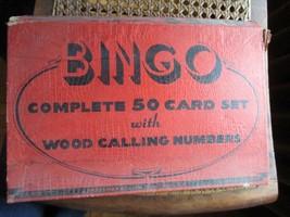 Vintage Bingo Game in Box, J. Pressman Co., New York - $14.96