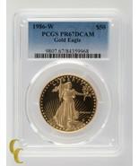 1986-W Gold Proof 1 oz American Eagle PCGS Graded PR 67 DCAM - $2,449.62