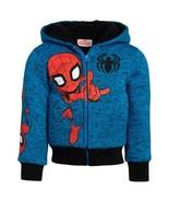 NEW Spiderman Kids' Plush Hoodie SELECT SIZE FREE SHIPPING - $24.99