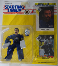 1993 Starting Lineup Grant Fuhr Buffalo Sabres Kenner Hockey NHL Action ... - $45.00