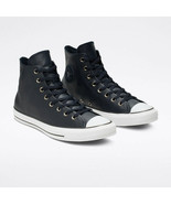 Converse Mens CTAS Hi Leather 165189C Dark Obsidian/White/Black Multi Si... - $54.98